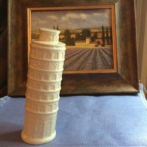 CHEESE SHAKER CERAMIC LEANING TOWER OF PISA